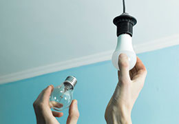 inschroefbare led lampen