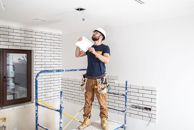 installatie led verlichting woonkamer